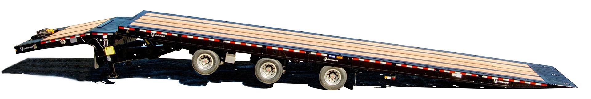 Custom Tilt trailer Sliding axle