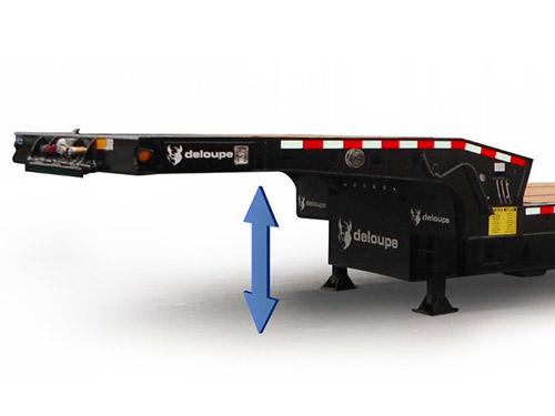 Custom Tilt trailer lifting system