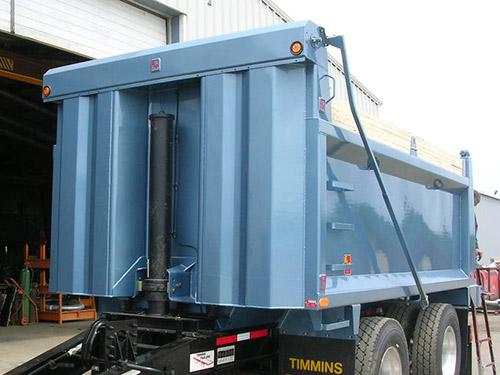 trailer with Hardox 450 technology