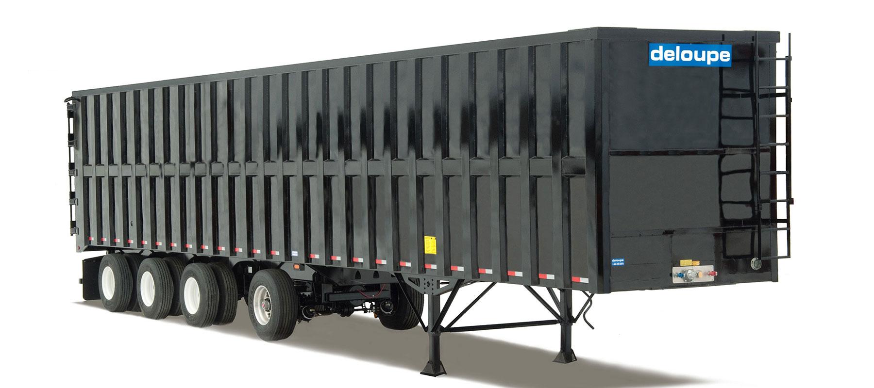 Semi-trailers : Tin scows