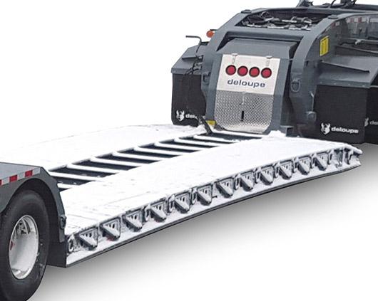12 inch thick trailer platform