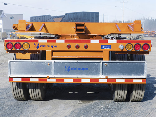 Optimized payload : 3-axle pole trailer
