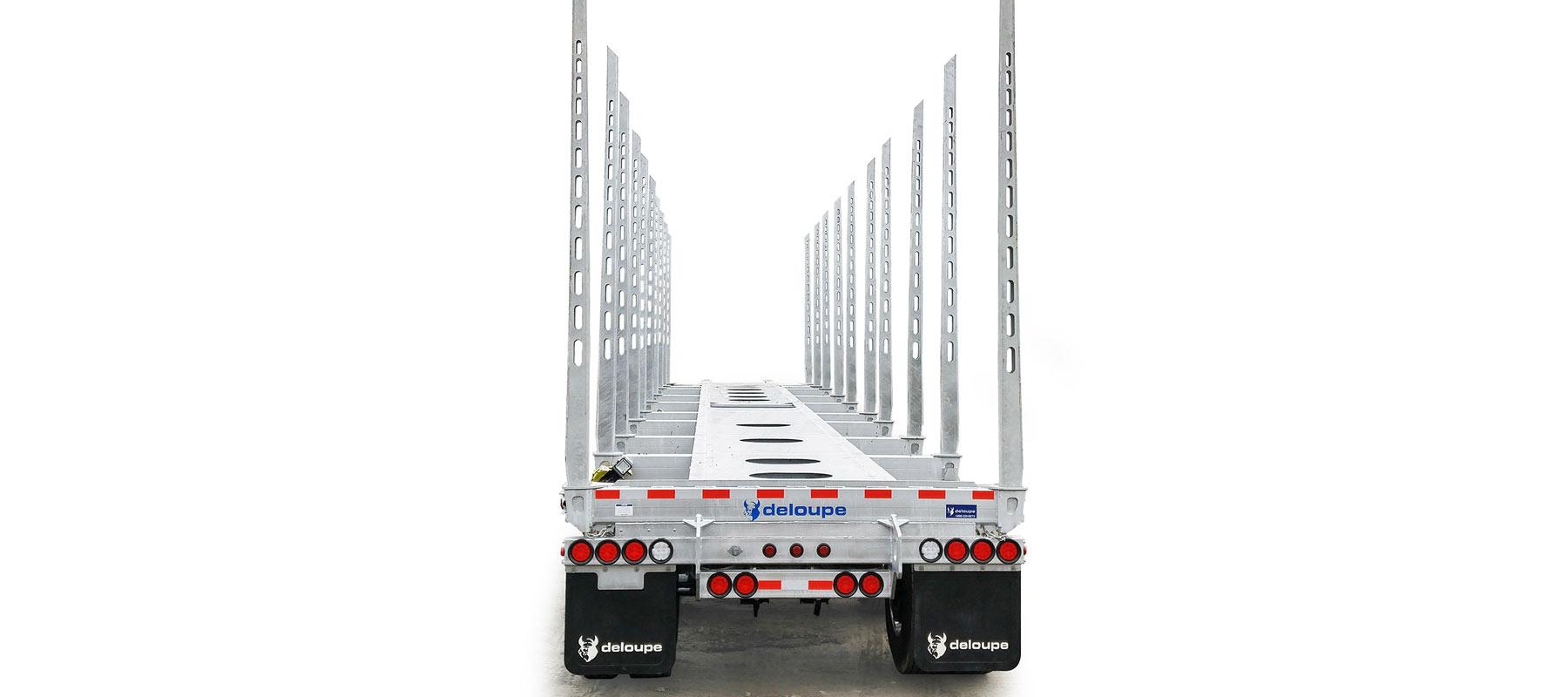 ULTRALIGHT logging trailers back